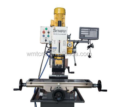 ZAY7032FG 32mm gear-head cheap bench type drilling and milling machine with CE for sale