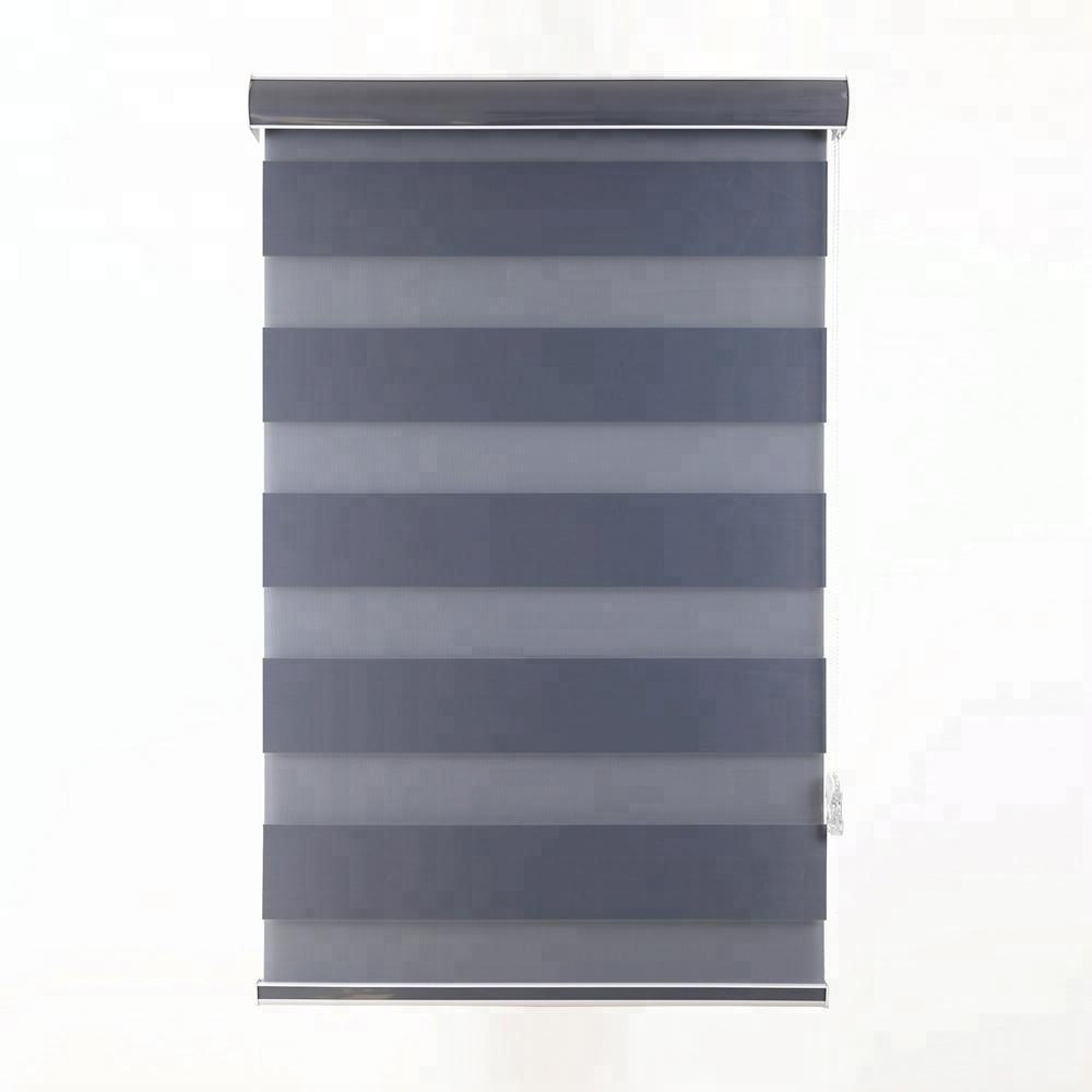 Manual zebra roller blinds blackout curtains home