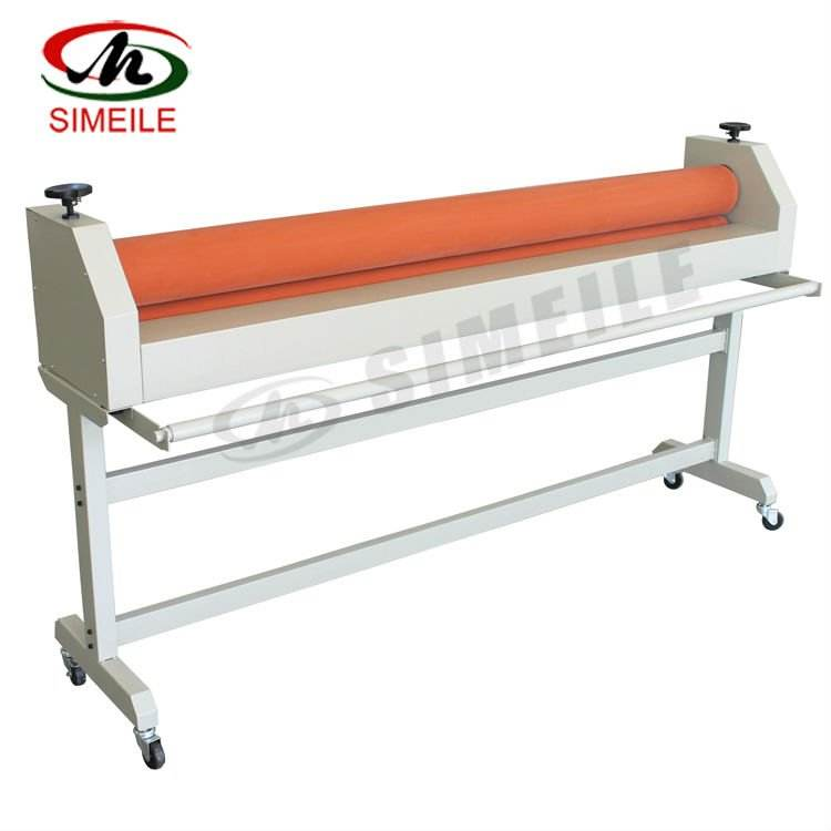 LBS-1600 63inch 1600mm Roll Laminator Cold/Manual Cold Roll Laminator With Stand