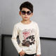 china new style fashion children boy's long sleeve t-shirt factory