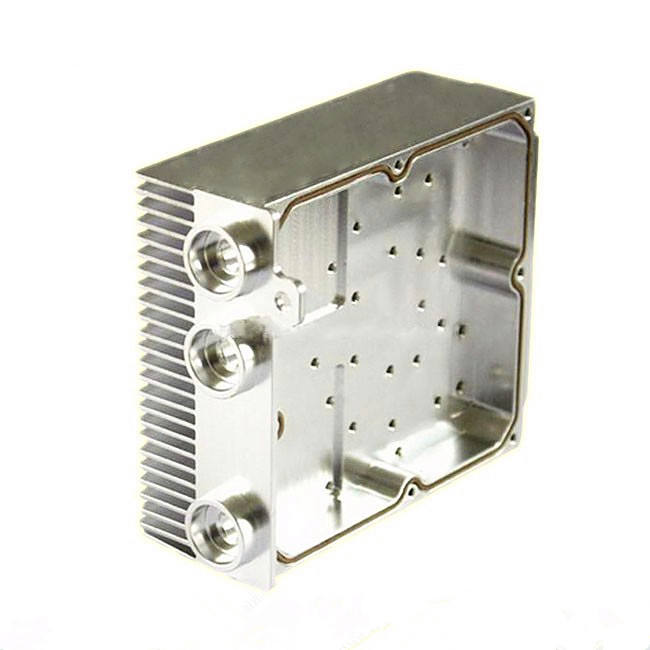 Aluminum Stainless steel CNC terminal milling housing machining cavity box housing Enclosure for Electronic Industry