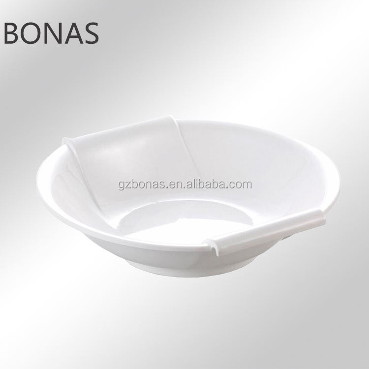 White coupe Plate, entree dinner plate, deep dinner plates