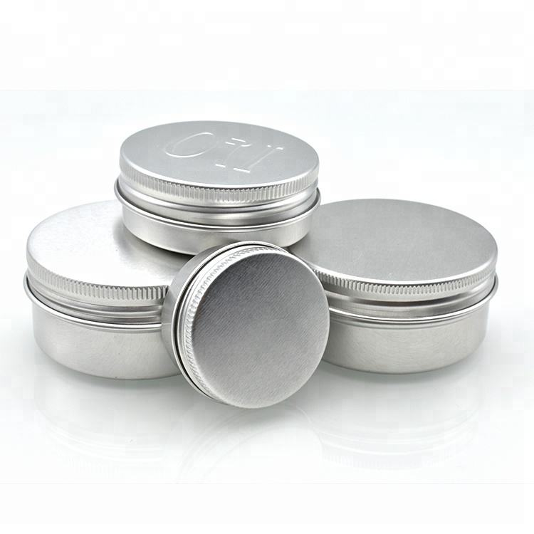 10g 15g 30g 50g 60g 100g 120g 150g 200g 250g cosmetic aluminum tin jar for hand face cream in stock