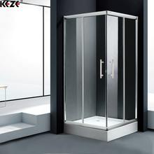 Modern Designs Luxury Square Tempered Glass Shower Cubicles Cabin For Bathrooms