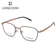 Liangdian new arrival full rim titanium eyeglasses, handmade luxury eye glasses optical frames