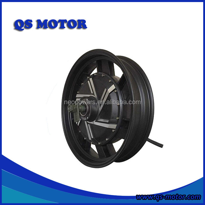 QS Motor 17 inch 273 5000 watt 72v Electric Motorcycle In-Wheel Hub Motor(45H) V2 Type