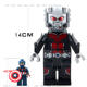 14CM Super hero Big Large Jumbo figure Gain Ant man action Figure Building Block Toys for Children