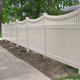 Free Maintenance 6ft.H x 8ft.W Picket-Top Plastic Privacy Fence Panels,pvc vinyl privacy fence