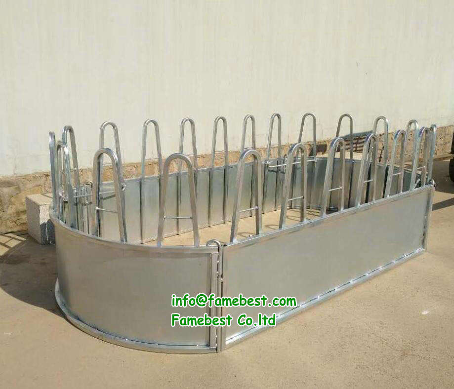 Large Rounds and Square Hay Bale Feeder Livestock Equipment |Square Bale Feeder