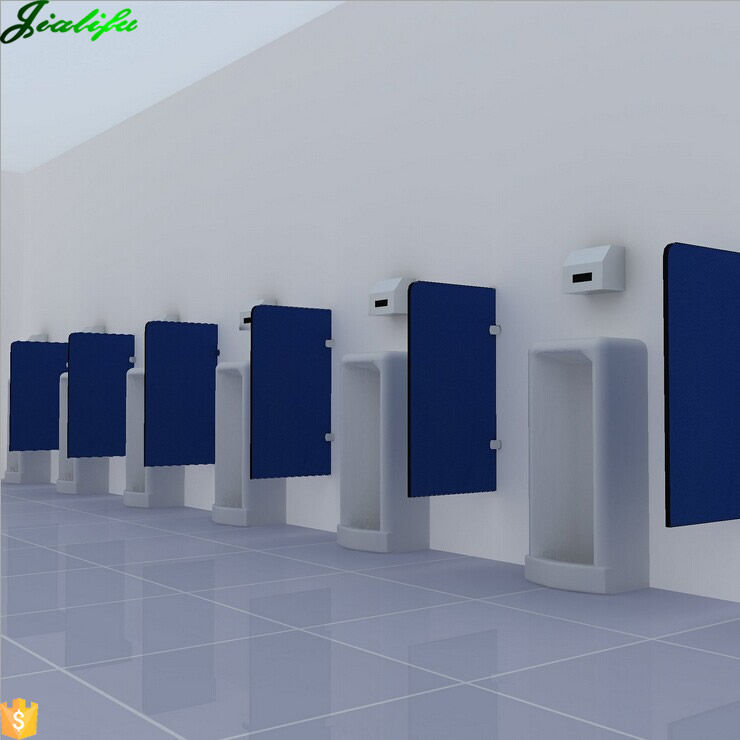 12mm hpl urinal privacy screen partition wall for sport center