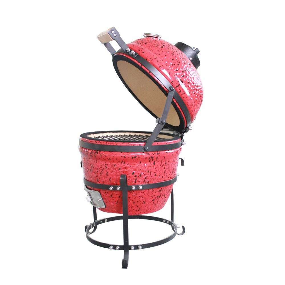 Hot Sale High Quality Ceramic Barbeque 13 ''Charcoal Kamado Grill