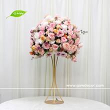 GNW Artificial Silk Flower Stem Branches Blossom Bunch Bouquet Home Table Centerpiece Wedding Bridal Decoration flower ball