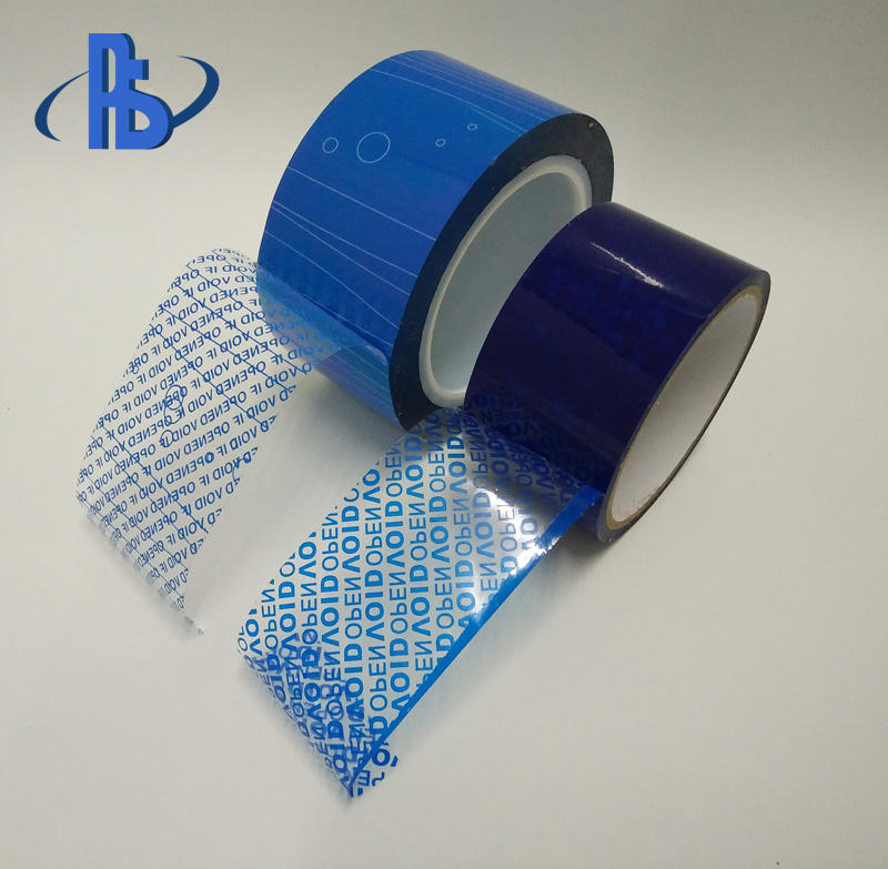 Packing material Customize logo print adhesive sealing packing security tape