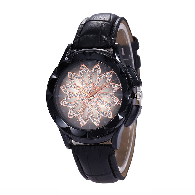 WJ-7805 WISH Explosion Lotus Starry Pattern Bracelet Watch AliExpress JOOM Hot Sale Women's Watch