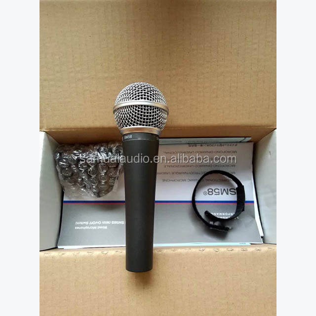 professional wired microphone S58