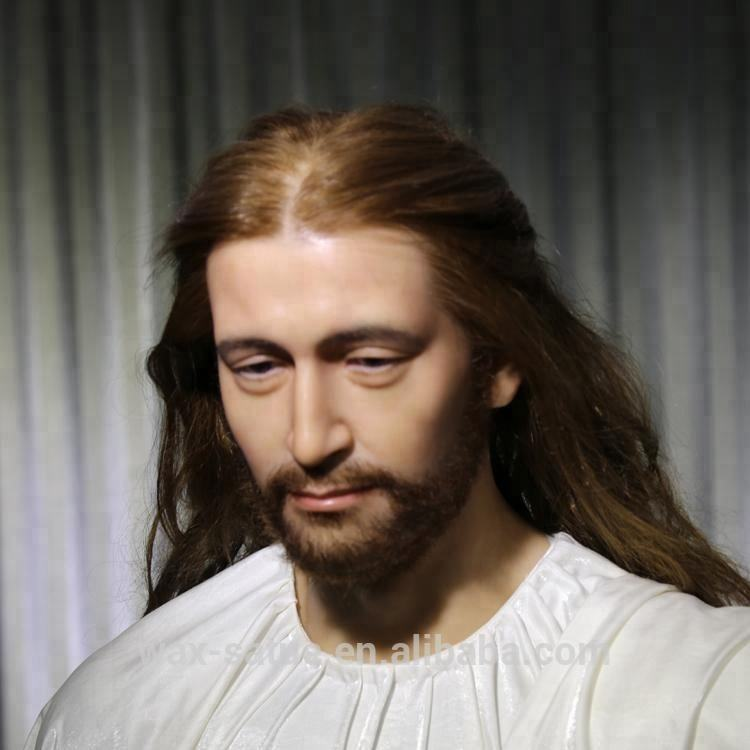 Custom Realistic Religious God Wax Figure Statues