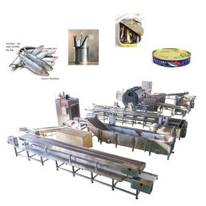 Eco-Friendly factory direct sales automatic sardine machine fish processing machine sardine in fish canning plant