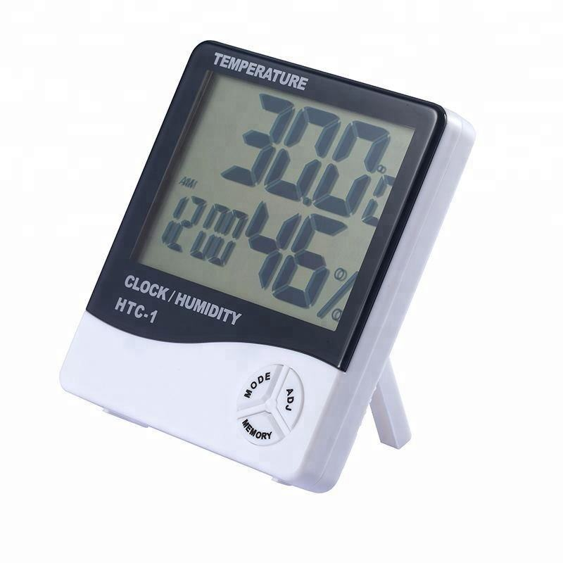 Low-price Automatic LED Wireless Weather Station and Thermo-hygrometer with Clock