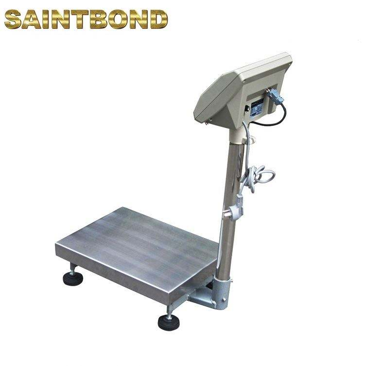OIML approved electronic industrial weighing scales floor platform rs 232 bench scale