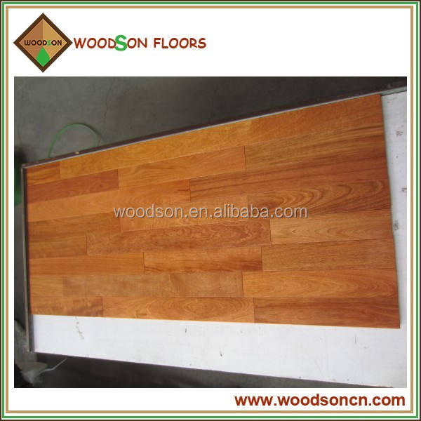 Selected and Commercial Prefinished Brazilian Cherry Solid Timber Flooring