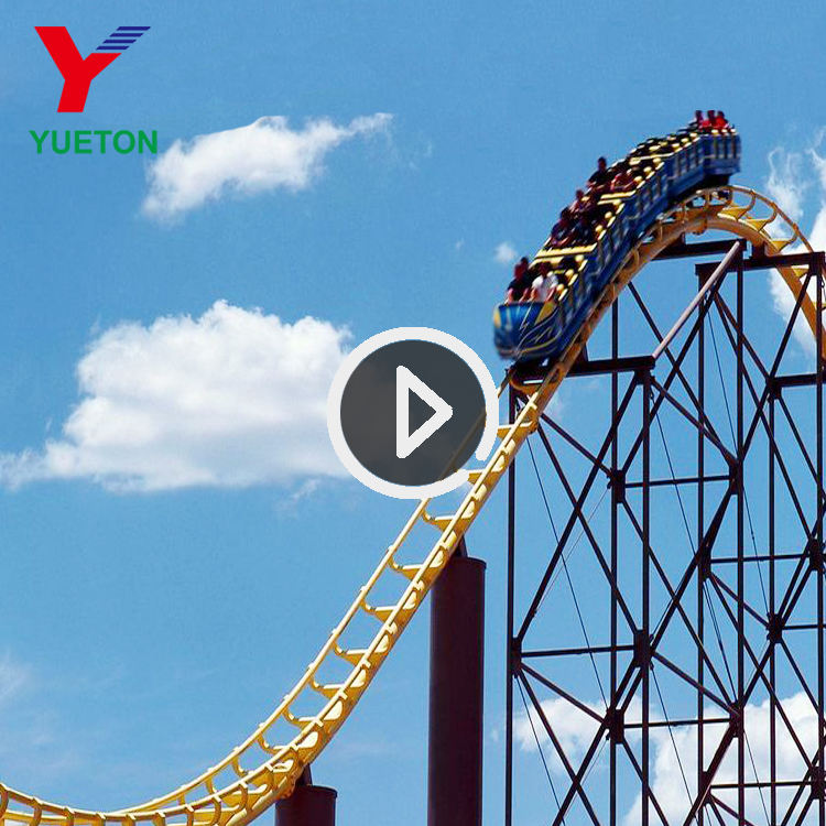 Amusement Park Roller Coaster In China