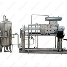 User friendly ro drinking water treatment system