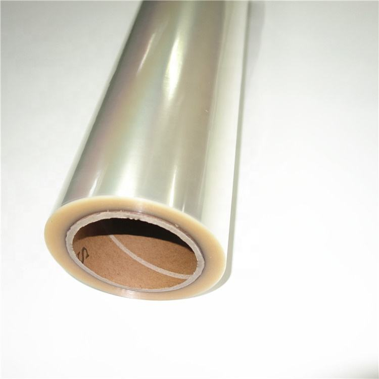 FLY China whole sale PVC free glossy cold lamination film 3D laminating film CPP laminate film