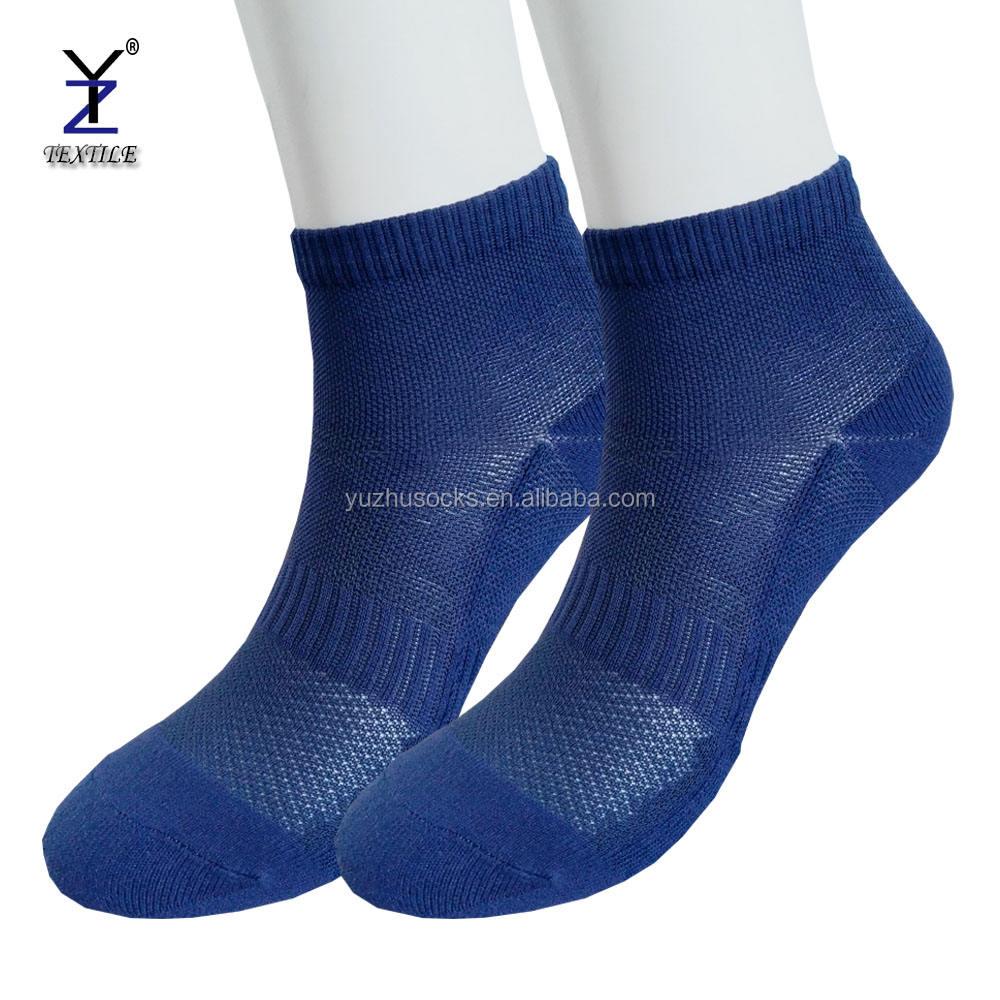 <span class=keywords><strong>Дышащий</strong></span> взрослых нейлоновые носки логотип, темно-синий-Полусапоги-носки