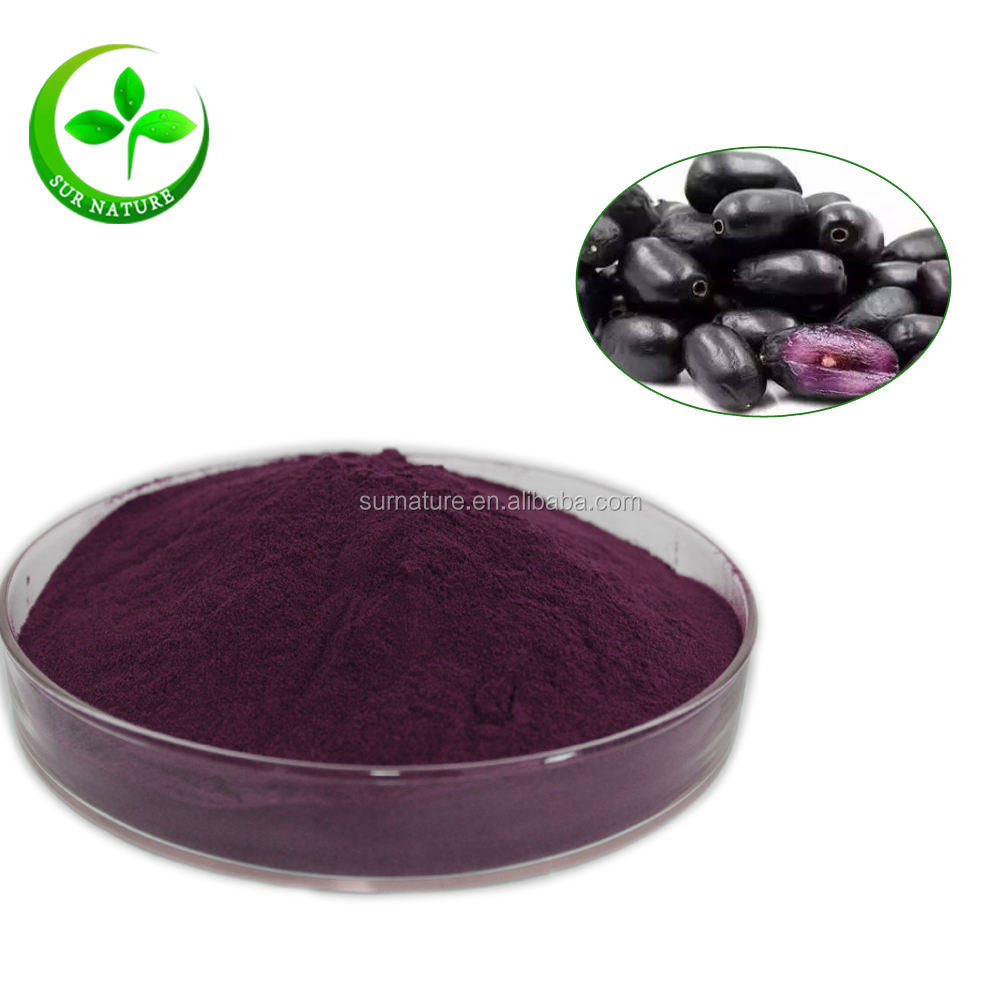 100% pure and natural black jamun fruit powder