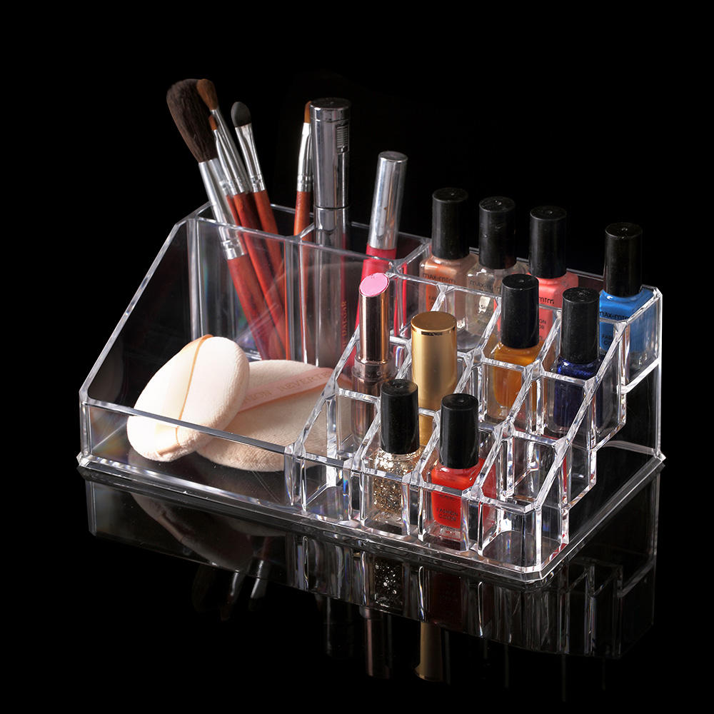 Direct top factory cheap price plastic make up organizer