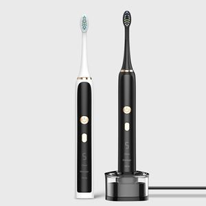 SEAGO SG2015 Luxury Smart Timer IPX7 High Quality Digital Display Sonic Electric Adult Toothbrush