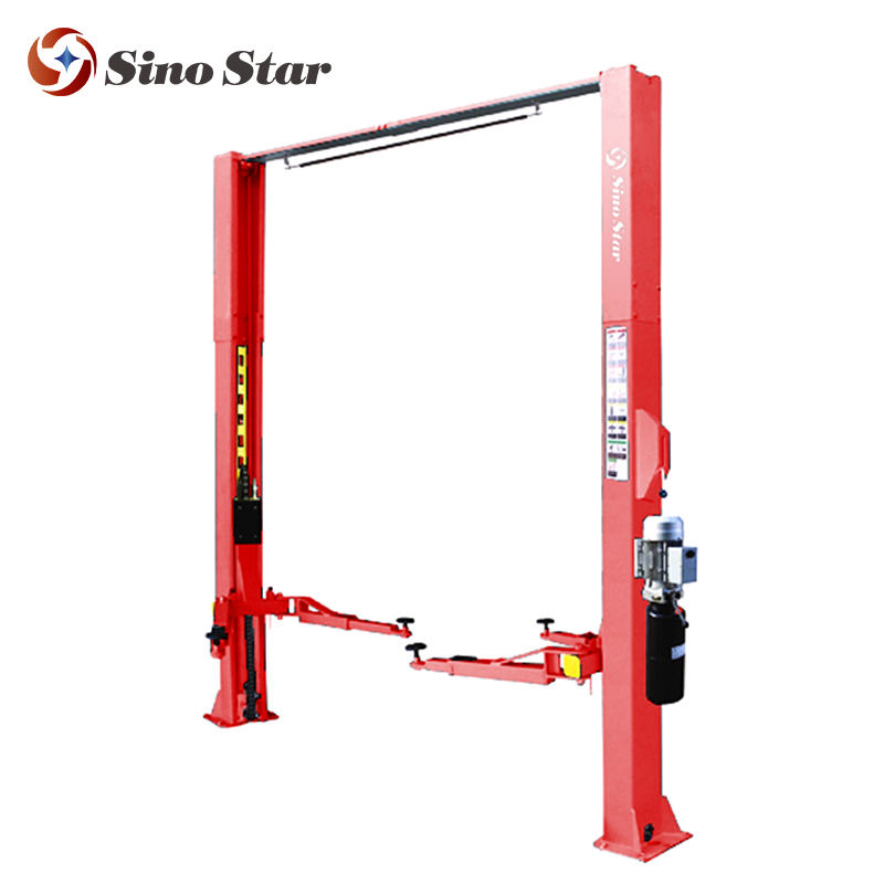 Manual lock release Two Post Car Lift for sale (SS-CLMD-40)