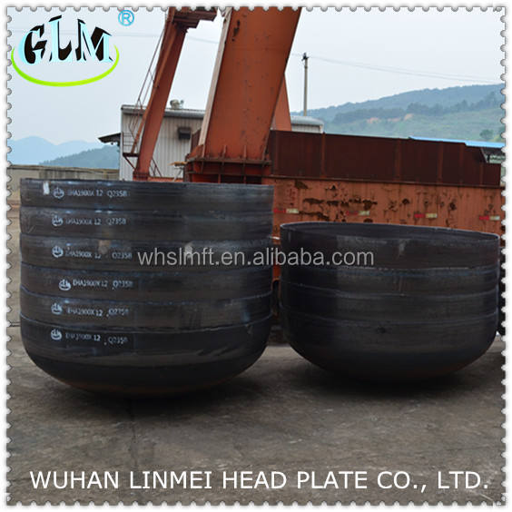 Lng Tank Head Lpg Tank Head Metal Gas Cap For Lpg Storage Tank