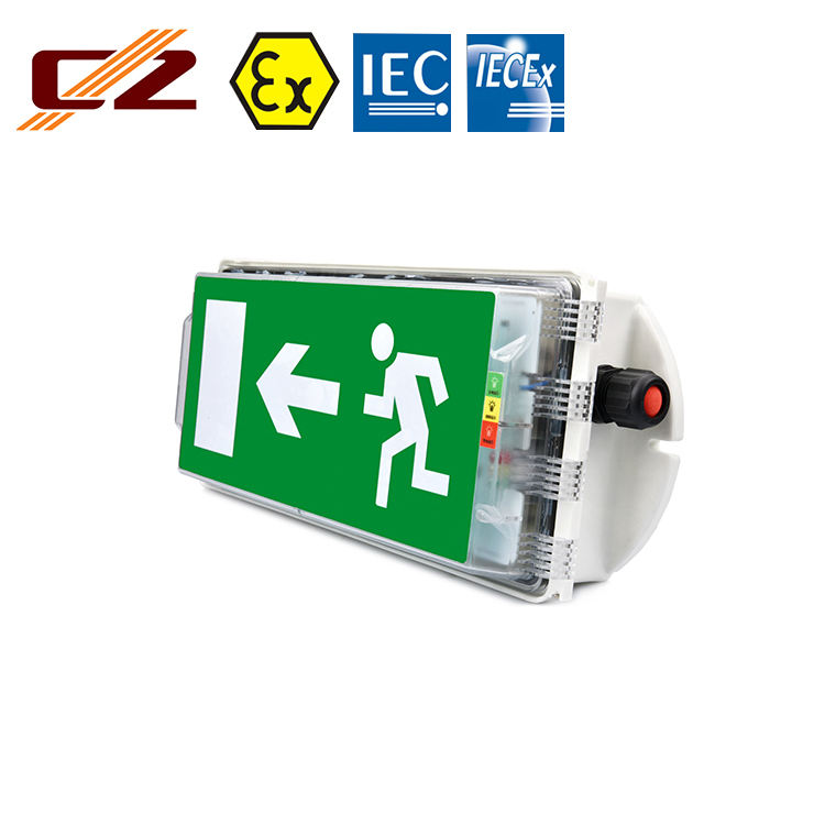 Manufacturing IECEX ATEX Certified Explosion-proof 3W LED Emergency Exit Light