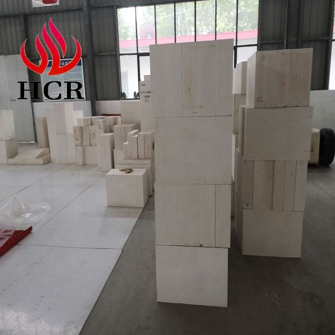 factory price AZS high alumina zircon sand price silica AZS refractory brick for float glass kiln