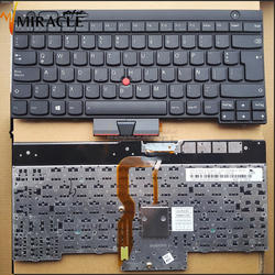 Best price LA layout laptop notebook keyboard for Lenovo T430 T430i T530