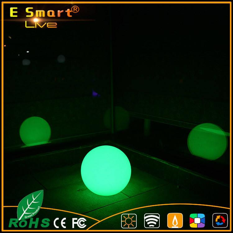 Wasserdichte Fernbedienung wunderbare outdoor-led-licht-weihnachtskugel RGB led ball