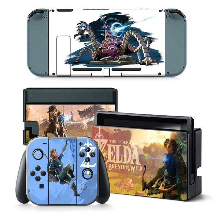Competitive price skin tattoo sticker skin sticker For nintendo switch