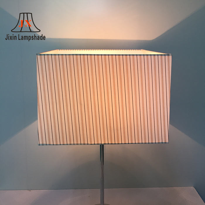 Rectangle plastic replacement lampshade for table floor Lamps