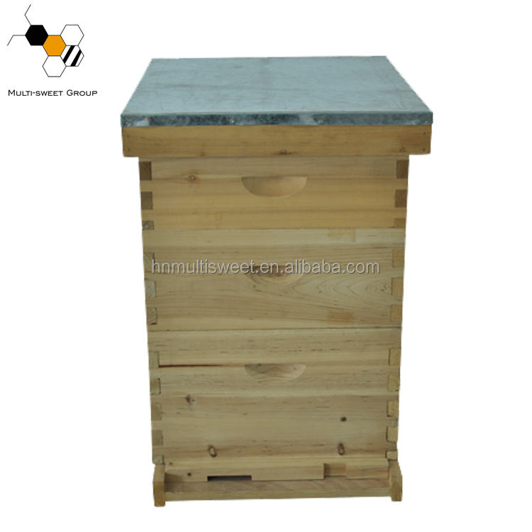 Manufacturers best price bulk langstroth beehive for hot sale