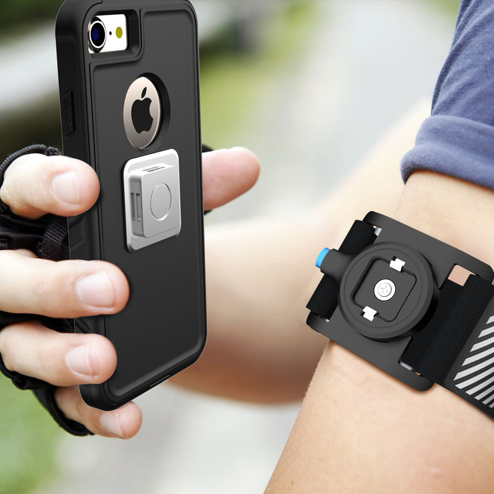 Suitable for Running Climbing Waterproof Man Armband Strip Phone Case Cell Phone Holder