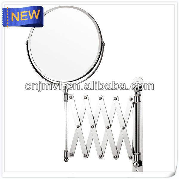 Magnifier miroir chromé ikea. film pour les murs