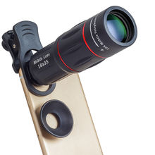 2019 Amazon hot Mobile phone telescope 18X telephone optical zoom camera lens for cellphone