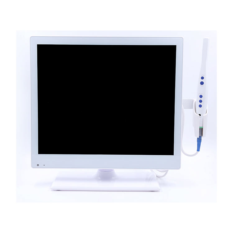 Top Quality Tv Magenta Dental Intraoral Camera With Lcd Monitor