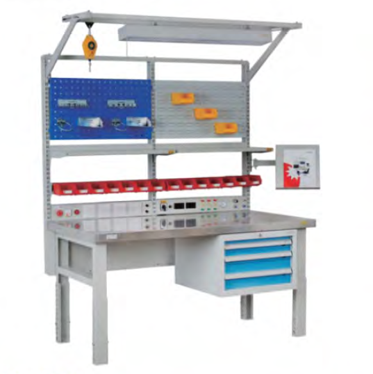 esd work table heavy duty workbench electronic ESD workbench