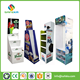 Paperboard Advertising Pos Folding Stand Supermarket Branded Merchandise Cardboard Display Pedestals for Biscuits