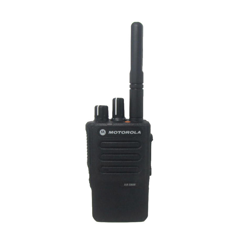 Digital Walkie Talkie Motorola XIR E8608i Bluetooth dengan GPS DMR Standar Tetra Walkie Talkie Radio Dua Arah