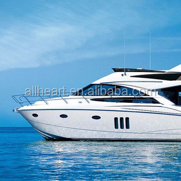 ALLHEART 12m fishing yacht aluminum speed boat 39ft leisure yacht with CE