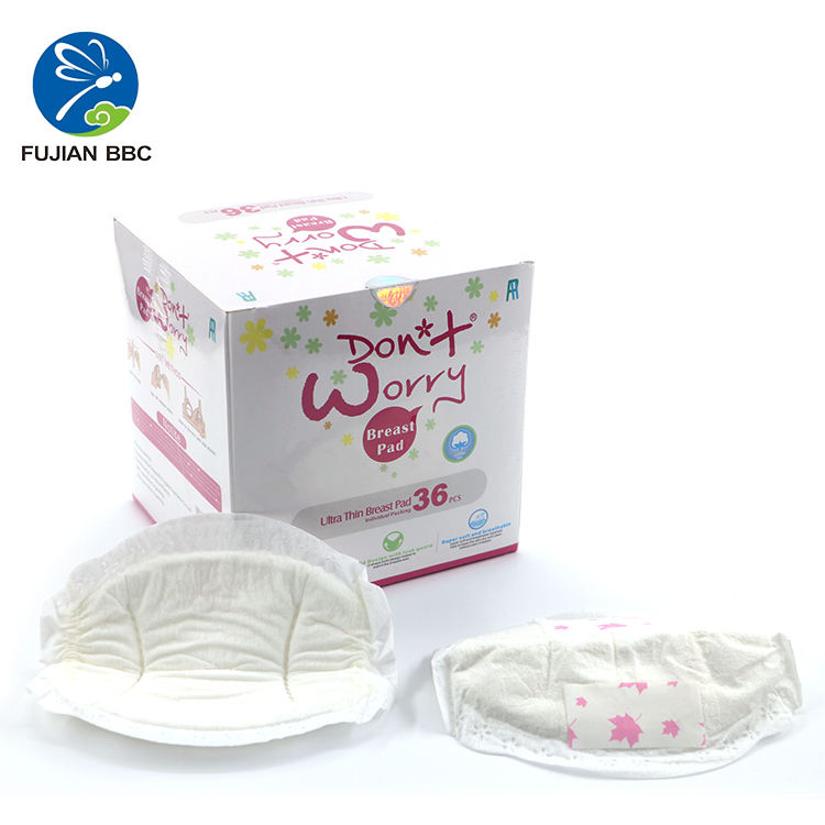 China Factor Disposable Ultra Thin Stay Dry Nursing Breast Pads Highly Absorbent Breastfeeding Milk Pads Manufacturer