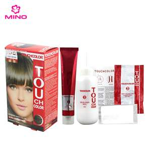 Touchcolor 40 Ml Pewarna Sutra Protein Rambut Warna Cream
